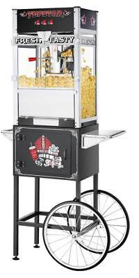 12 Ounce Popcorn Machine with Cart in Black [ID 3493941]