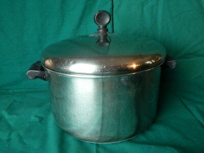 Vintage Farberware Stainless Steel 4 Qt Sauce/Stock  Pot with Lid NYC-USA