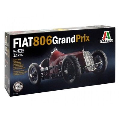 Italeri 1/12 Fiat 806 Grand Prix Kit (New)