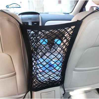 Strong Elastic Car Mesh Net Bag Between Organizer Seat Back Storage Bag Luggage
