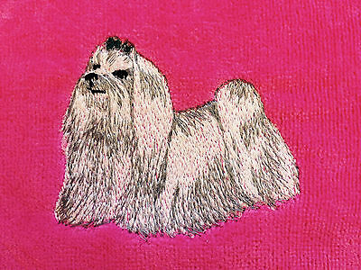 Maltese, Towel, Embroidered, Custom, Personalized, Dog