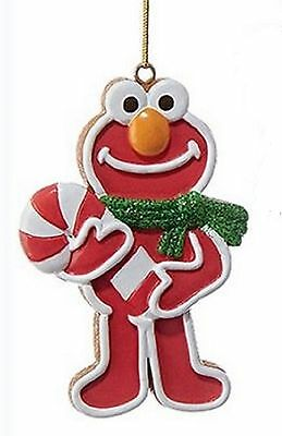 Elmo Sesame Street Ornament  in Red by Kurt Adler Frosted Cookie SE2162-c