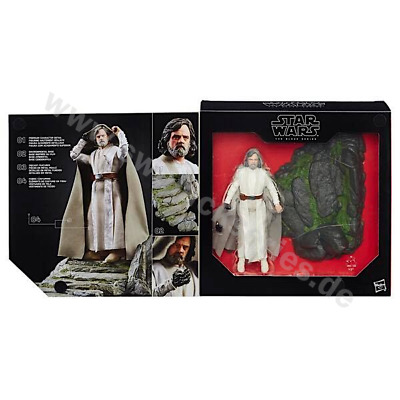 "Star Wars - The Black Series 6 "" Luke Skywalker Deluxe / Target Exclusive"