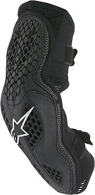 Alpinestars Black/Red Sequence Elbow Protectors Choose Size