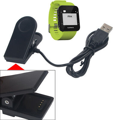 USB Data Sync Charging Clip Charger for Garmin Forerunner 35 GPS Activity Watch