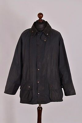 Men's Barbour Beaufort Waxed Jacket Size C48 / 122cm Genuine Casual