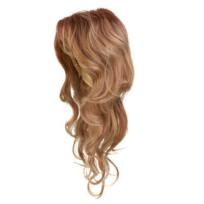 Long Wave Wig Heat Resistant Synthetic Cosplay Full Wig for Party