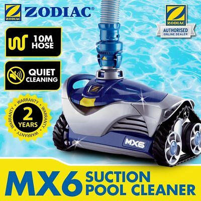 ZODIAC MX6 Vacuum Pool Cleaner Suction Barracuda Swimming Automatic 10M Hose
