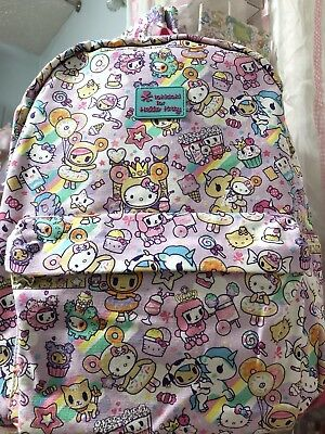 2017 New Sanrio TOKIDOKI for HELLO KITTY Sweets Donutella backpack! Sold Out