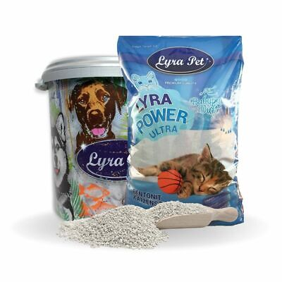 30 L Lyra Pet Cats Power ULTRA excellent Katzenstreu Babypuder Duft  +30 L Tonne