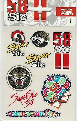 New Official SuperSic Small Sticker Set -  13 55014