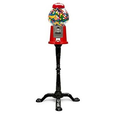 Carousel Gumball Machine Black Cast Iron Stand Tall