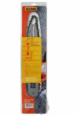 Ozaki 12'' Guide Bar And Chain Combo 3/8'' 1.3Mm .050'' Fits Most Hobby Chainsaw