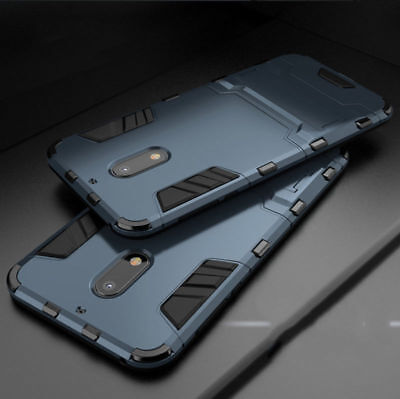 Shockproof Armor Heavy Duty Tough Phone Case Kickstand Cover For Nokia 8/6/5/3