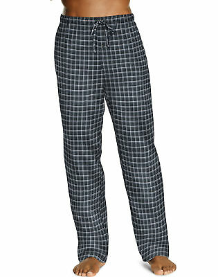 Hanes Men's Lounge Pants Pajama ComfortSoft Cotton Printed Drawcord w/ Pockets