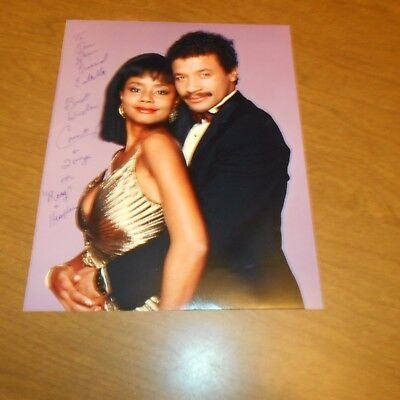 Count Stovall and Tonya Pinkins  Hand Signed Photo