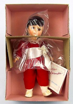"Vtg 8"" Madame Alexander Doll RED BOY NIB #440 - Super Clean! No Odors! w/ Box"
