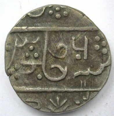 Datia, India States Ah1178//6 Silver Rupee  C#27  Choice Extremely Fine