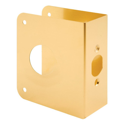 Prime-Line Products U 9565 Non-Recessed Door Reinforcer 1-3/4-Inch Thick by 2-3/