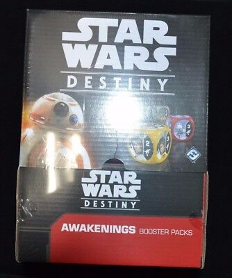 Star Wars Destiny Awakenings Factory Sealed 36 Pack Booster Box!