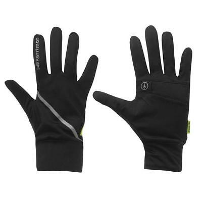 Ladies Reflective Running/Jogging/Cross Country Gloves c/w Key Pocket XS/S/M/L