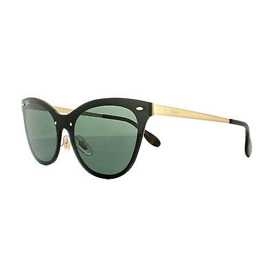 eaf2295532 RAY-BAN SUNGLASSES BLAZE Cat Eye 3580N 043 71 Gold Green - EUR 111 ...