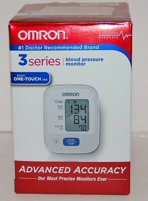 Omron 3 Series Easy One-Touch Use Blood Pressure Monitor - TubE