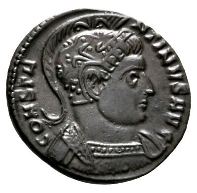 CONSTANTINE THE GREAT (321 AD) Ae3 Follis. Trier #RB 9613