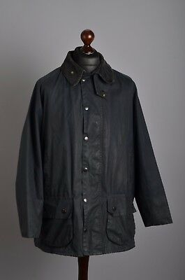 Men's Barbour A155 Classic Beaufort Jacket Size C46 / 117cm Genuine Casual Waxed
