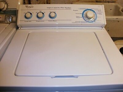 Whirlpool American Top Loading Washer. A big top loader, perfect working order