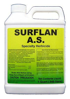 Surflan A.S. Specialty Pre Emergent Herbicide Oryzalin 40.4% 32 oz. Southern AG