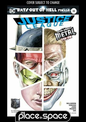 Justice League, Vol. 2 #33B - Justice League Movie Variant (Metal) (Wk46)