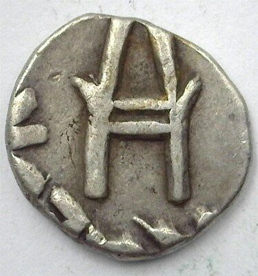 Bundi, India States Ah1973 (1916) Silver 1/4 Rupee Y#16.1  Choice Extremely Fine