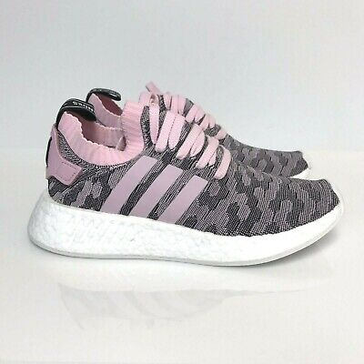 caa5e6015 Adidas NMD R2 PK W BY9521 Womens Primeknit Boost Pink Black White SALE  Running