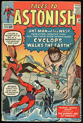 Stan Lee Authentic Signed Tales To Astonish #46 Comic Book PSA/DNA #Z05333