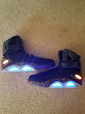 back to the future mag light up sneakers