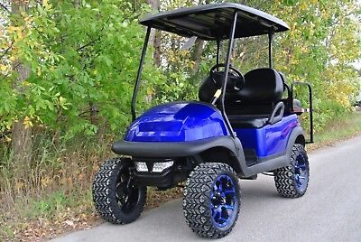 METAL2010 CUSTOM CLUB CAR PRECEDENT I2 GOLF CART lic Blue CUSTOM CLUB CAR  PRECEDENT Electric GOLF CART Shipping Available