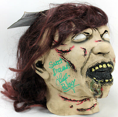 "Linda Blair ""Sweet Dreams"" Signed The Exorcist Mask Autographed In Green PSA/DNA"