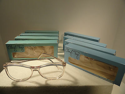 Vintage Cheryl Tiegs Eyeglass Frames #13 Sport Whisper Blue 55 -16  lot of eight