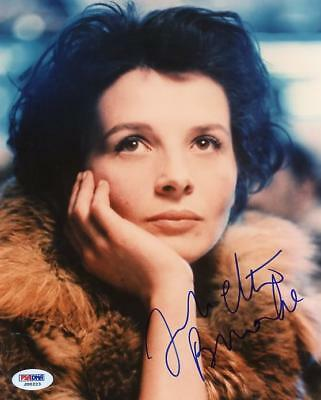 Juliette Binoche Signed Authentic 8X10 Photo Autograph PSA/DNA #J00223