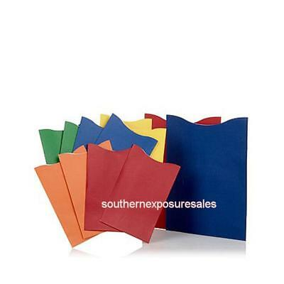 TravelSmith 12-pack of Color-Coordinated RFID-Blocking Sleeves - Solid Colors