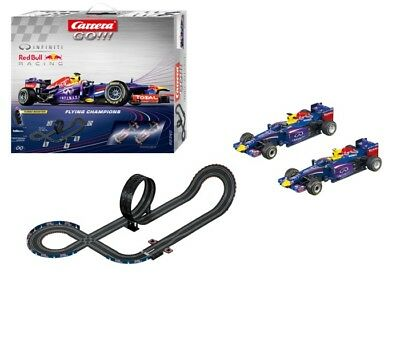 Red Bull Racing Infiniti RB9 Formula 1 F1 Carrera 1:43 Slot Car Racing Track Set