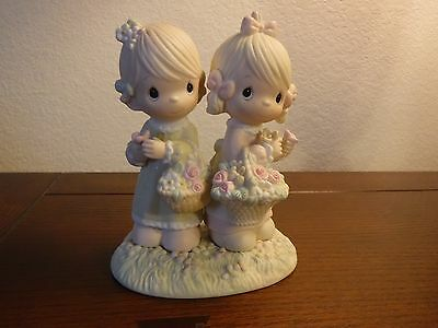 Precious Moments Figurine - 1985 - To My Forever Friend - 100072