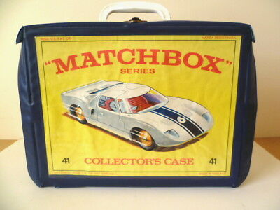 Vintage Lesney Matchbox 1968 Collector's Carry Case Including 4 Trays