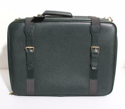 LOUIS VUITTON TAIGA Forest Green Satellite Luggage Bag Travel Carry-On Suitcase