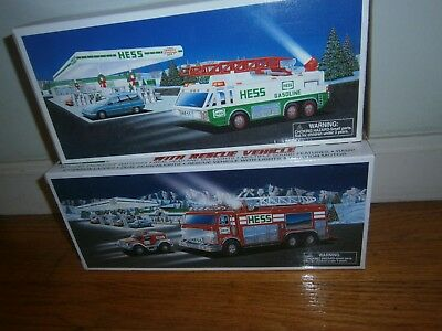 EMPTY REPLACEMENT BOX  Hess 1991 to 2008 Toy Truck Box ONLY <No Vehicle> new