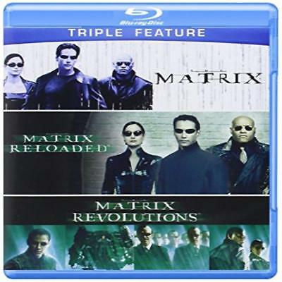 The Matrix Trilogy Series The Matrix Reloaded Revolutions Blu-Ray Action Films