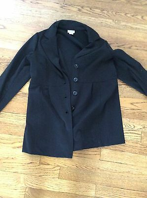 Motherhood Maternity Black Jacket Blazer Small  Suit