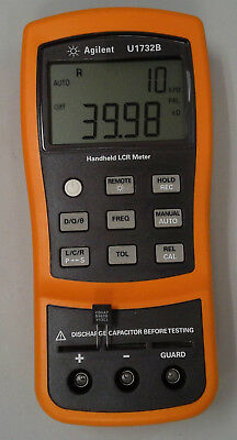 Agilent U1732B Handheld LCR Meter -- Used, very clean, tested, in spec.