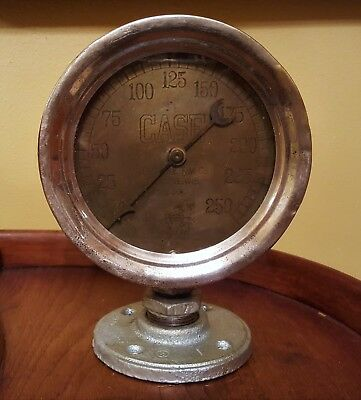 Antique Case Gauge J.I.CaseT.M.Co. Rachine,Wis.Co. U.S. Gauge Co. N.Y.